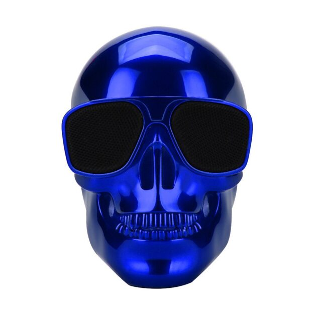 Electroplated-skull-skull-wireless-Bluetooth-stereo-speakers-with-HD-sound-and-bass-sounds-to-show-personality-1