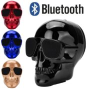 Electroplated-skull-skull-wireless-Bluetooth-stereo-speakers-with-HD-sound-and-bass-sounds-to-show-personality