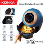 KONKA-3-5L-Air-Fryer-Intelligent-Automatic-Electric-Household-Multi-Functional-Oven-No-Smoke-Oil-free